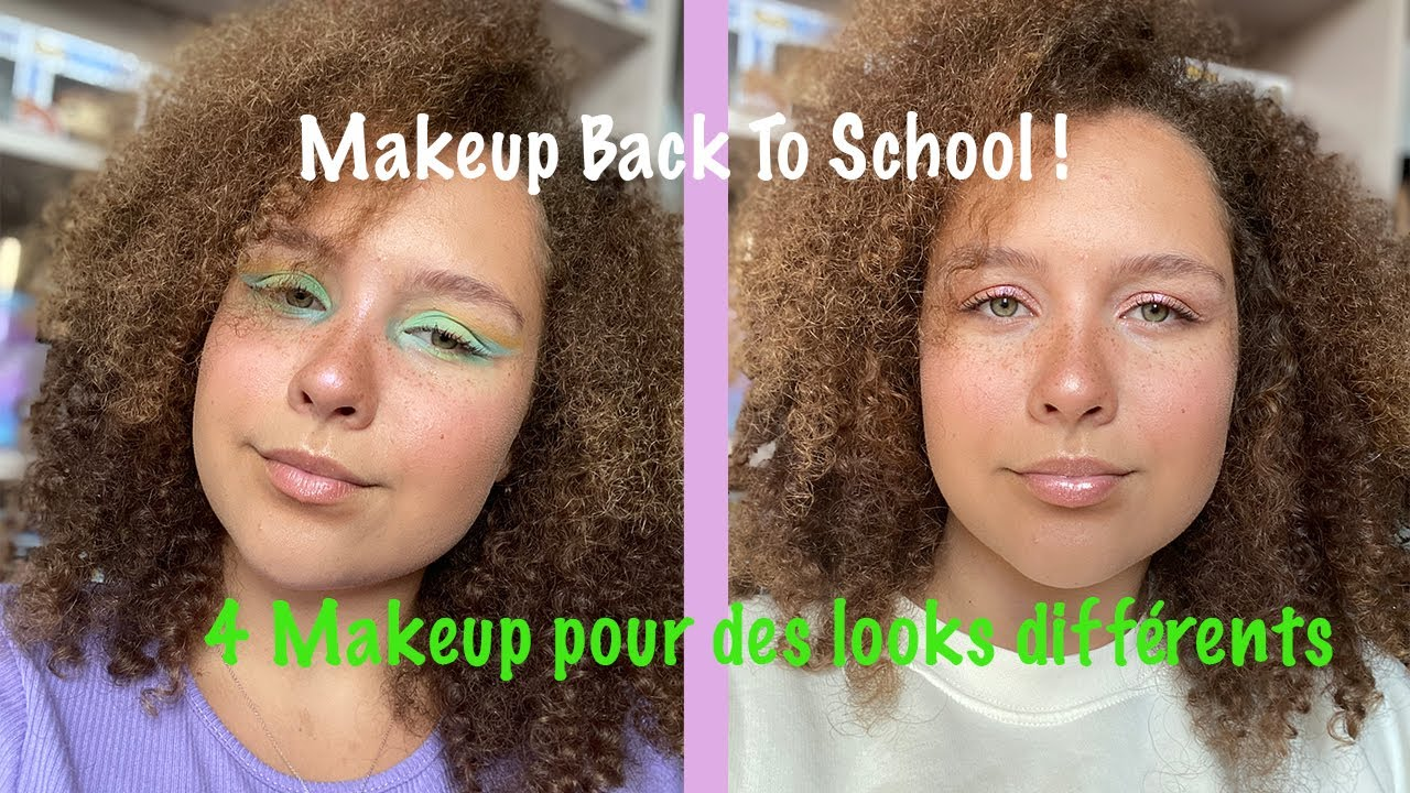 @Camille Ricordel: 4 makeup Back To School !