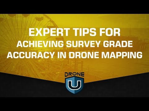 Expert Tips for Achieving Survey Grade Accuracy in Drone Mapping