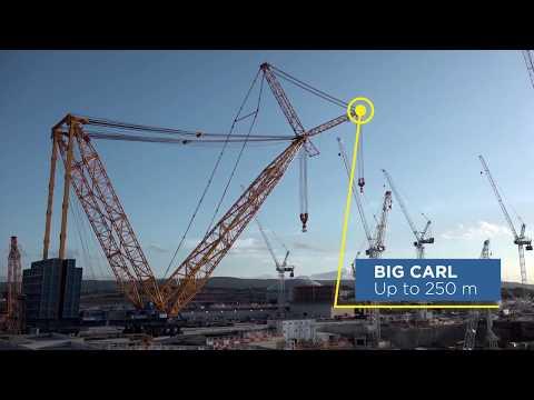 #Howwedoit Meet Big Carl - The world's biggest crane makes its first move
