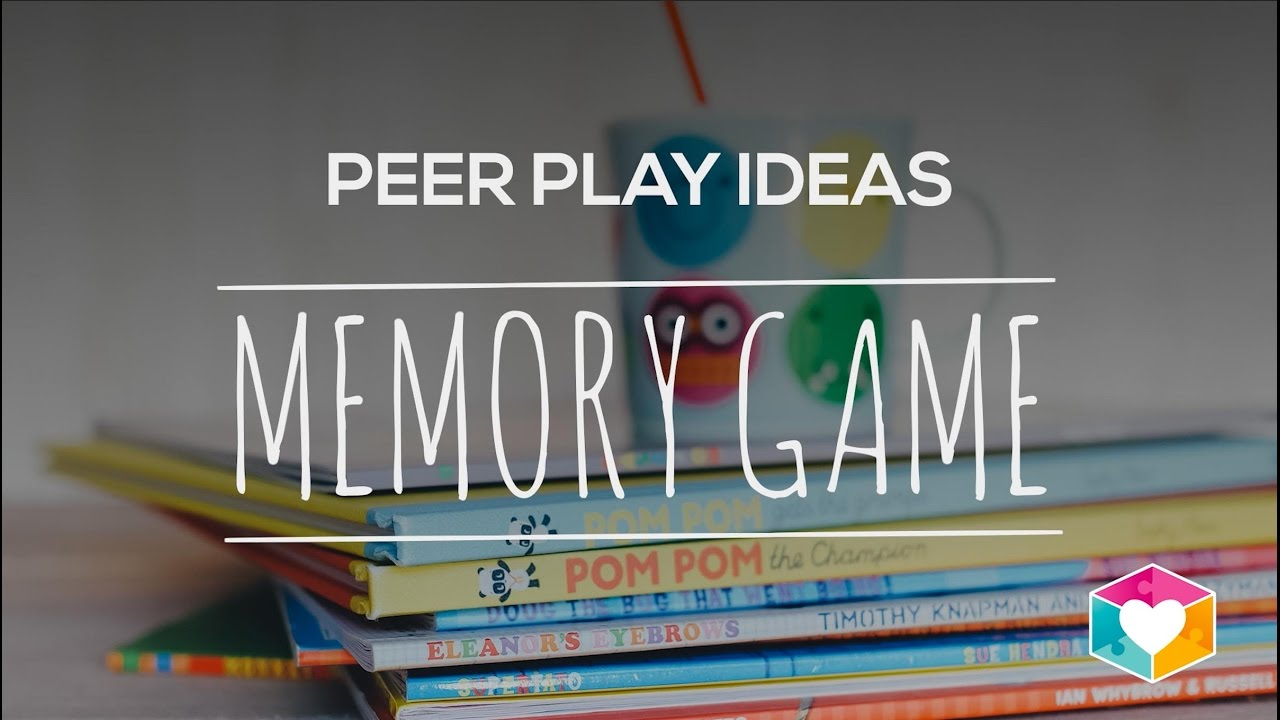 Peer Play Idea for Children with Autism: Memory Game