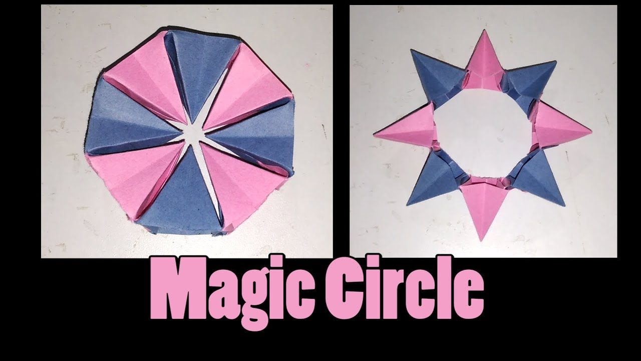 how to make an origami magic circle origami fireworks