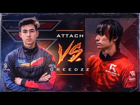 FAZE ATTACH vs RUSH GREEDZz! (JAPANESE PRO PLAYER)