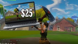 Playing Fortnite on a $25 Laptop thumbnail