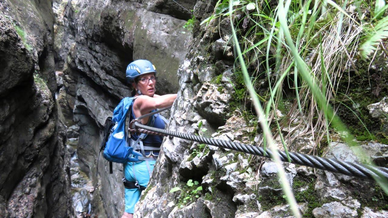 Klettersteig Postalm : U postalm klettersteig c gamsleckenwand d patricks