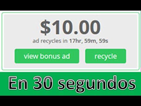 Paidverts, 10$ En 30 Segundos !!   Paypal   Truco Paidverts   Parte 2