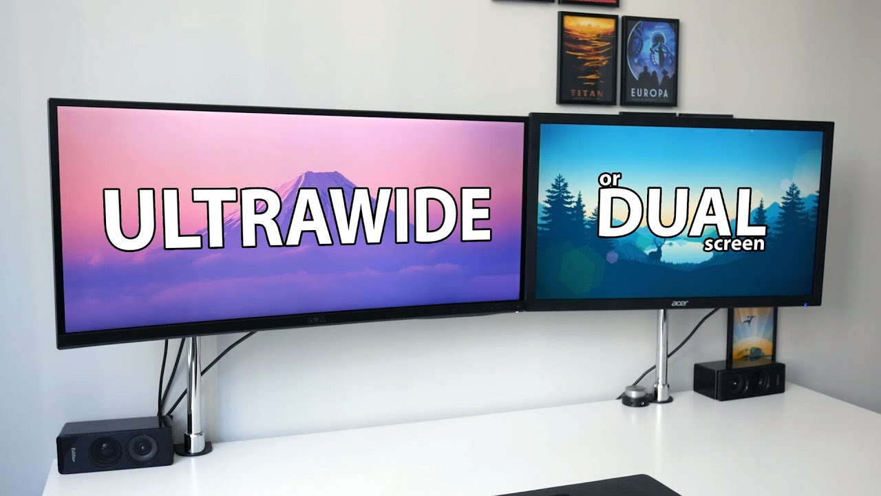 Ultrawide Vs Dual Screen What Is The Best Setup For