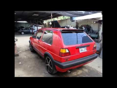transformacion volkswagen golf mk  youtube