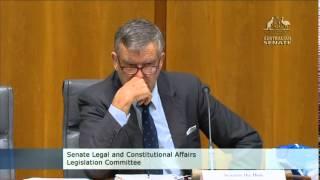 Liberal Senator Bill Heffernan brings pipe bomb into Parliament