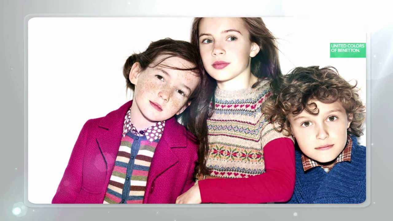 4bf28b8ad9b1 Benetton Kids - Live in Colors the New Fall Winter Collection 2012 ...
