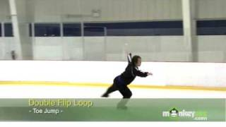 Ice Skating - The Flip Jump