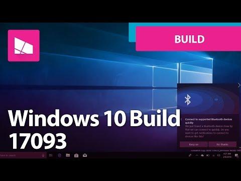 Windows 10 Build 17093 - Eye Tracking, Cortana, Settings, Reveal, Xbox + MORE