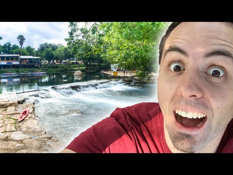 BEST PARK IN SAN MARCOS TEXAS To Swim In The San Marcos River | Rio Vista Park In San Marcos TX