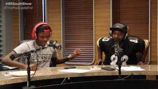 Leave Me Lone Freestyle With DC Young Fly  Karlous Miller  Clayton English