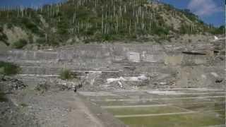 Producción de sal en Zapotitlán Salinas Pue.
