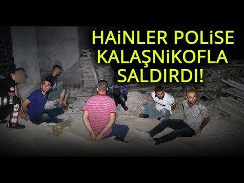 Adana'da Kalaşnikofla Polise
