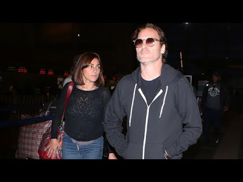 Joaquin Phoenix Takes Flight With Sister Summer On National Brother's Day