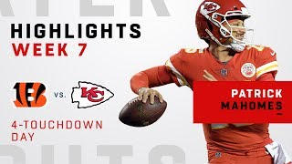 Patrick Mahomes' Massive Night w/ 358 Yards & 4 TDs!