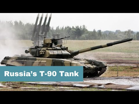 Russia's T-90 Tank Is Getting Upgraded, But Can It Beat The Abrams?