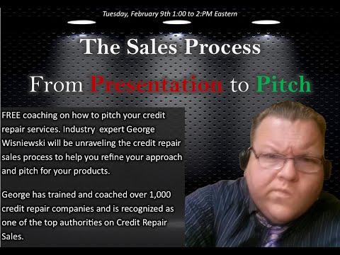 Credit Repair Sales Presentation to Pitch episode 1