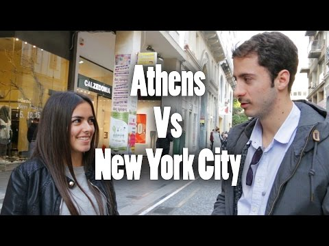 Athens Vs New York City