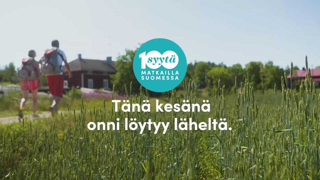 100 Syytä Matkailla Suomessa