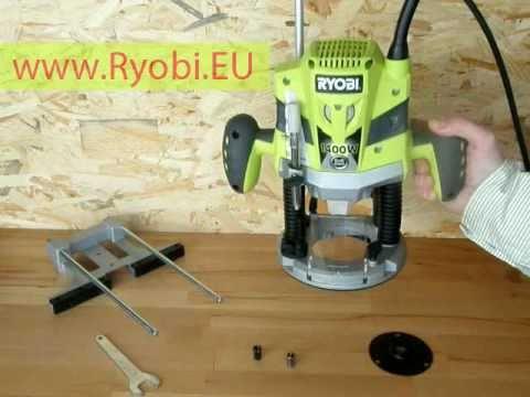 Horn frzka ryobi ert 1400 rv plunge router ryobi youtube greentooth Choice Image
