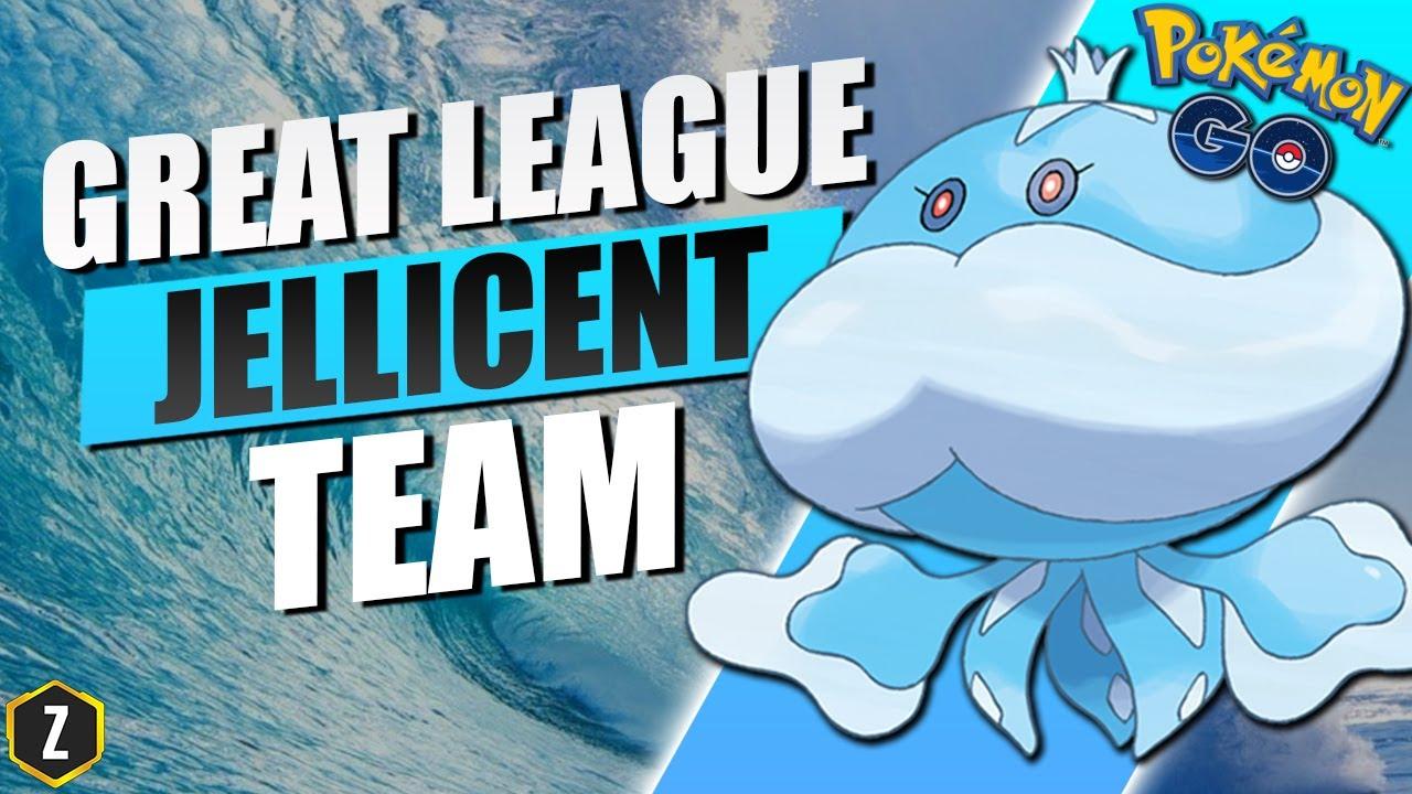 Amazing Great League Team with Jellicent in Pokémon GO Battle League!