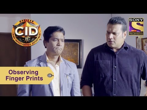 Your Favorite Character | Abhijeet & Daya Look For Finger Prints | CID