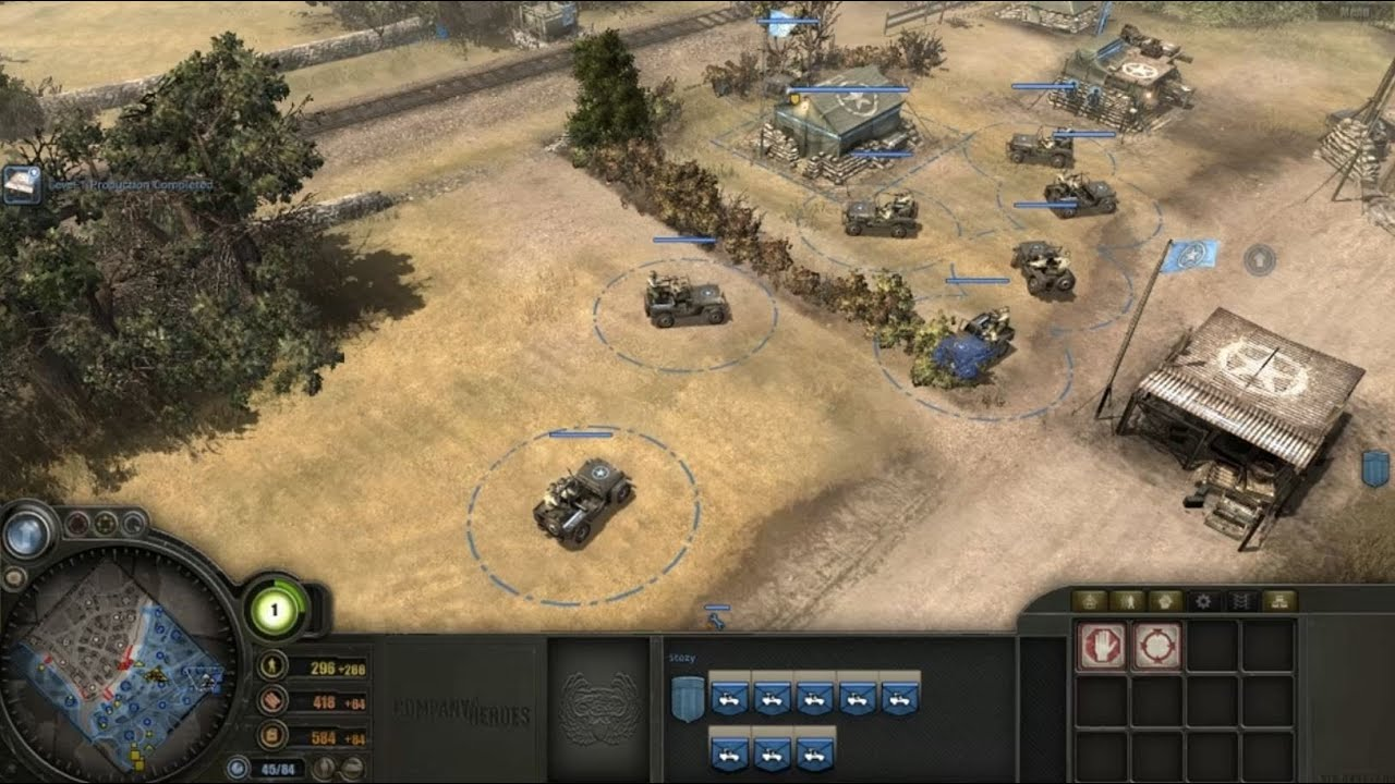 Download Company of Heroes - Jeep trolling gone wrong.
