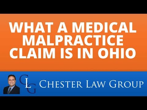 What A Medical Malpractice Claim Is In Ohio | (844) 853 7373 Columbus Medical Malpractice Attorney