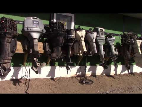 Outboard Junk Yard! Parts Heaven For Outboard Motors Repair Fun & Games On OLDER Motors.