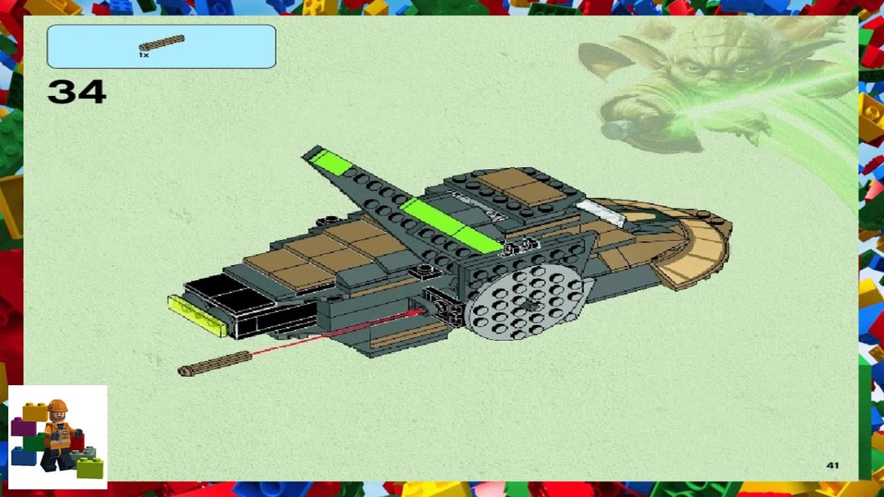 Lego Instructions Star Wars 75024 Hh 87 Starhopper Youtube