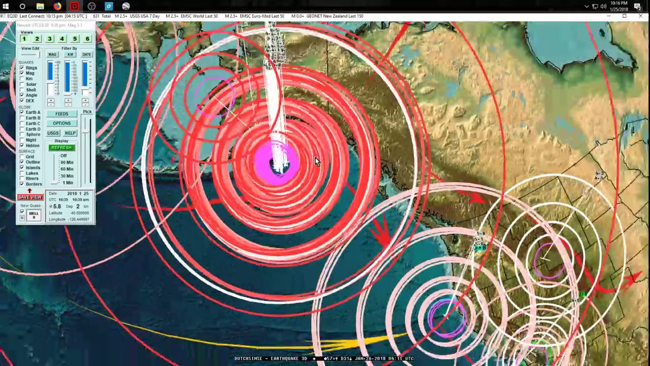 a study on seismic activity in california united states Fracking and earthquakes 2 only 19th for seismic activity in the united states seismically active than california, topping all states in the.