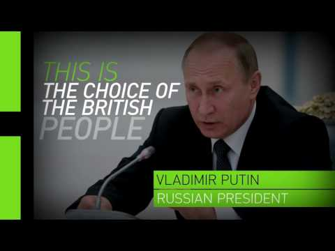 No one wants to support weak economies - Putin on Brexit