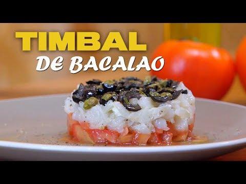 Timbal De Bacalao | Receta ¡DE CHEF!