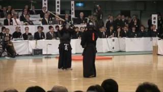 第56回全日本剣道選手権大会 決勝戦5分の5 面が決まり 優勝が決まった瞬...