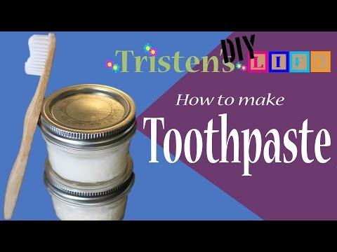 Homemade Diy Toothpaste