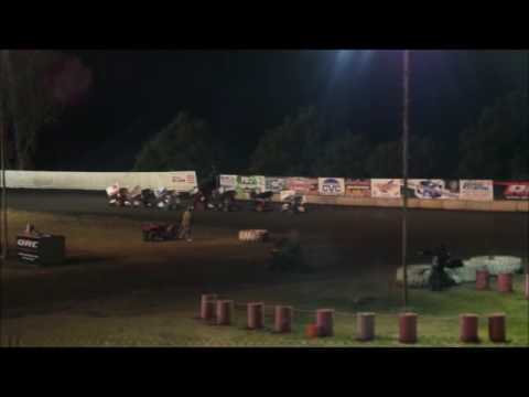 Shansen in his 500 Inter @ Cycleland Speedway 5-21-16