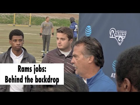Rams Jobs: Meet the Interns Who Have A Firm Grip On Their Duties | Los Angeles Times