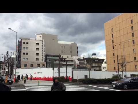 Japan-Secret city  Aoyama, Minato-ku, Tokyo, January 14, 2017