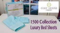 😍  COSY HOUSE  ❤️ 1500 Collection Luxury  Bed Sheets - unboxing  ✅