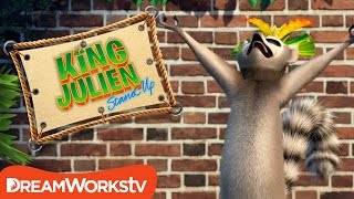 Why Scream For Ice Cream? | KING JULIEN STAND UP
