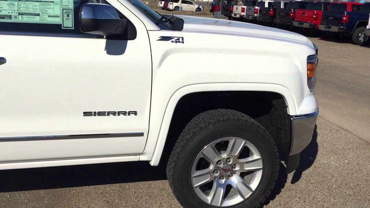 2015 Gmc Sierra With Leveling Kit At Mckinney Buick Gmc