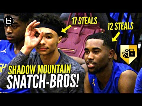 They Make DEFENSE EXCITING! Team Couldnt Get PAST HALFCOURT! Jaelen House 17 Steal Triple Double!