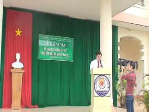 Lễ khai mạc Hội Thao Chào Mừng Ngày 20-11 THPT Phạm văn Đồng