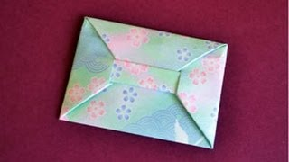 Origami Envelope Instructions: www.Origami-Fun.com