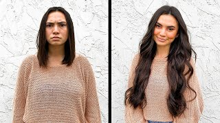 Getting a 24 Inch Hair Transformation