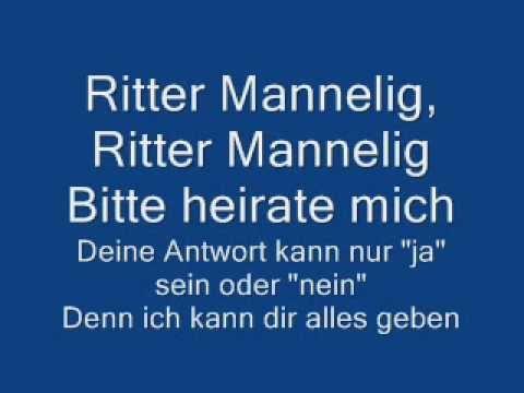 In Extremo - Herr Mannelig Deutsch Lyrics