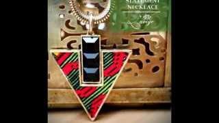 African print ankara & kente jewelry & accessories by L'aviye: earrings, bangle, necklace, brooch Thumbnail