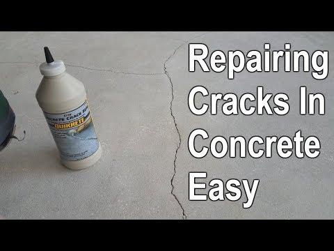 How To Repair Cracked Concrete Patio Slab